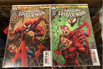 Picture of AMAZING SPIDER-MAN (2018) #30 & 31 1ST PRINT SET NM