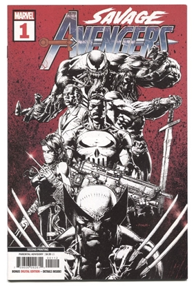Picture of SAVAGE AVENGERS #1 2ND PTG DEODATO VAR