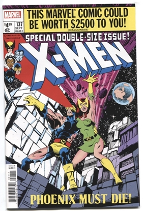 Picture of X-MEN #137 FACSIMILE EDITION