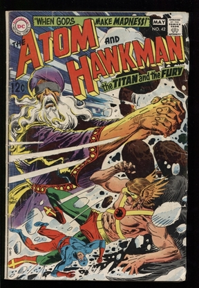 Picture of THE ATOM AND HAWKMAN (1968) #42 2.0 GD