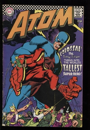 Picture of THE ATOM (1962) #32 6.0 FN