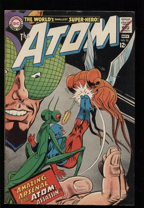 Picture of THE ATOM (1962) #33 4.0 VG
