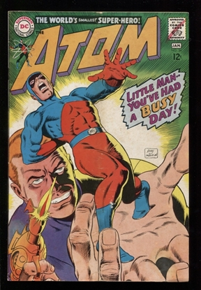 Picture of THE ATOM (1962) #34 4.0 VG