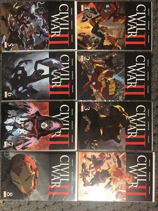 Picture of CIVIL WAR II 2016 1-8 NM SET