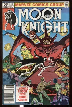 Picture of MOON KNIGHT (1980) #11 9.2 NM- NEWSSTAND