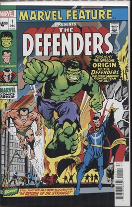 Picture of DEFENDERS MARVEL FEATURE #1 FACSIMILE EDITION