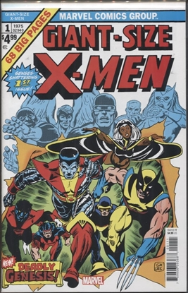 Picture of GIANT SIZED X-MEN #1 FACSIMILE EDITION