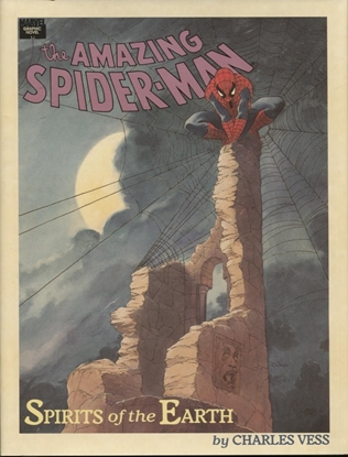 "Picture of AMAZING SPIDER-MAN ""SPIRITS OF EARTH"" HC / 1ST PRINT / NM"