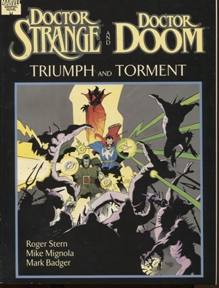 Picture of DOCTOR STRANGE AND DOCTOR DOOM: TRIUMPH AND TORMENT GN
