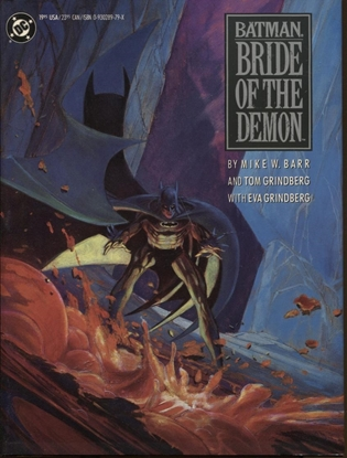 Picture of BATMAN BRIDE OF THE DEMON HC / 1990 1ST PRINT / NM