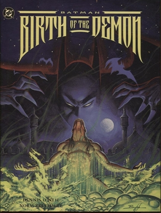 Picture of BATMAN BIRTH OF THE DEMON HC / 1992 1ST PRINT / NM