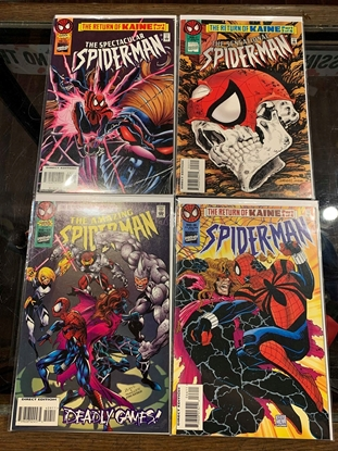 Picture of AMAZING SPIDER-MAN (1963) PART #1-4 RETURN OF KANE  SET VF/NM