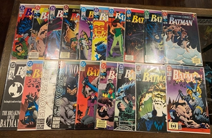 Picture of BATMAN KNIGHTFALL (1993) PARTS #1-19 #659-666 & #492-500 VF/NM