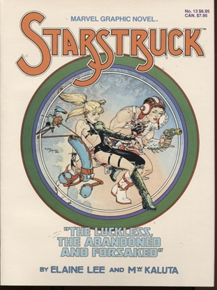 Picture of MARVEL GRAPHIC NOVEL #13 STARSTRUCK NM+