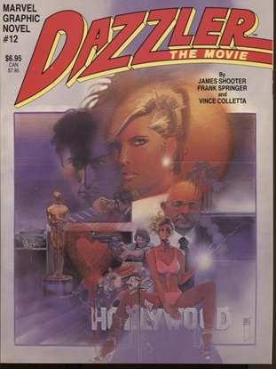 Picture of MARVEL GRAPHIC NOVEL #12 DAZZLER NM+