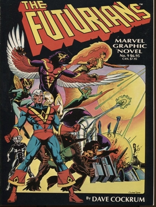 Picture of MARVEL GRAPHIC NOVEL #9 THE FUTURIANS VF+