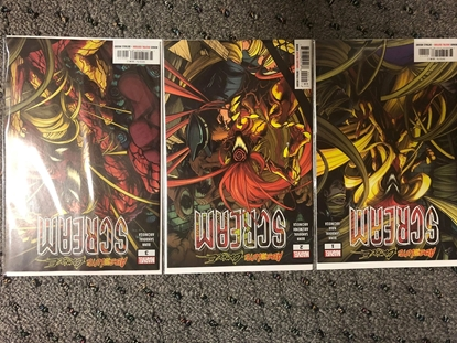Picture of ABSOLUTE CARNAGE SCREAM #1-3 SET