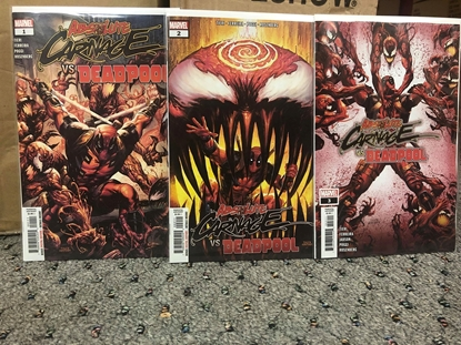 Picture of ABSOLUTE CARNAGE VS DEADPOOL #1-3 SET