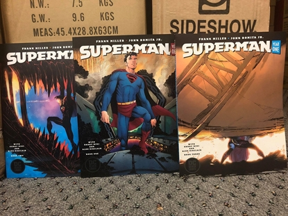 Picture of SUPERMAN YEAR ONE #1-3 ROMITA JR COVER SET