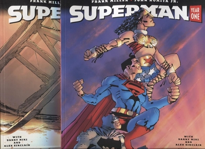 Picture of SUPERMAN YEAR ONE #3 ROMITA & MILLER COVER SET