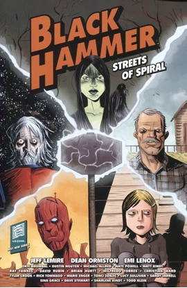 Picture of BLACK HAMMER STREETS OF SPIRAL TP