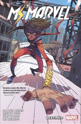 Picture of MS MARVEL BY SALADIN AHMED TP VOL 01
