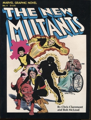 Picture of MARVEL GRAPHIC NOVEL #4 THE NEW MUTANTS NM