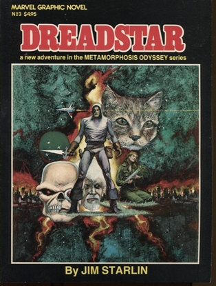 Picture of MARVEL GRAPHIC NOVEL #3 DREADSTAR NM-