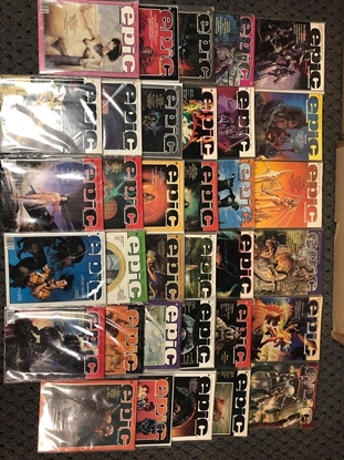 Picture of EPIC ILLUSTRATED #1-34 SET