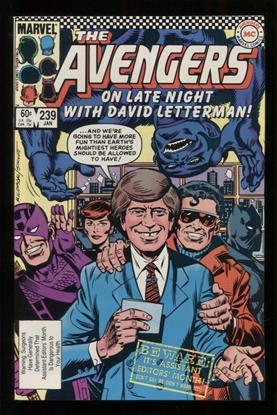 Picture of AVENGERS (1963) #239 9.6 NM+