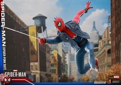 Picture of SPIDER-MAN SPIDER-PUNK SUITE VERSION 1:6 SCALE FIGURE HOT TOYS