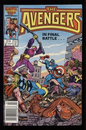 Picture of AVENGERS (1963) #277 9.6 NM+