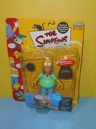 Picture of PLAYMATES 20TH CENTURY FOX THE SIMPSONS ACTION FIGURE PIN PAL HOMER NEW IN BOX