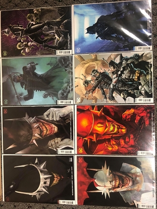 Picture of BATMAN WHO LAUGHS #1-7+GRIMM KNIGHT 1 VARIANT SET