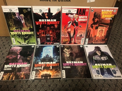 Picture of BATMAN WHITE KNIGHT #1-8 MIXED PRINTS SET