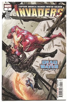 Picture of INVADERS (2019) #7 CARNAGE BLOOD VARIANT VF/NM