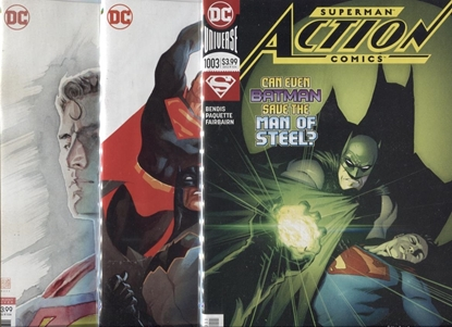 Picture of ACTION COMICS #1003 A B C COVER SET