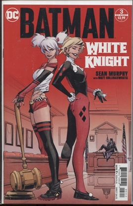 Picture of BATMAN WHITE KNIGHT #3 (OF 8) 2ND PTG