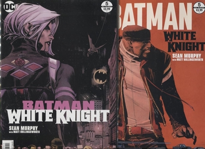 Picture of BATMAN WHITE KNIGHT #5 A + B SET