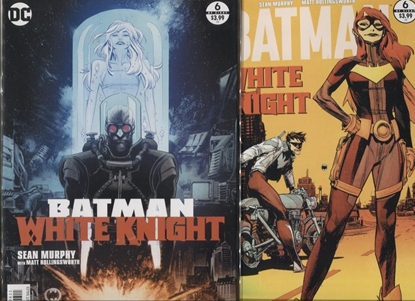 Picture of BATMAN WHITE KNIGHT #6 A + B SET