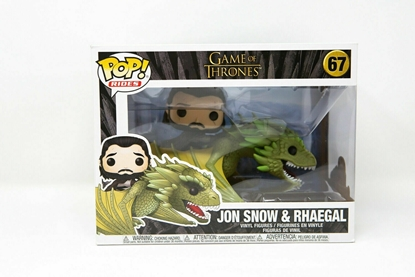 Picture of FUNKO POP RIDES GAME OF THRONES JON SNOW & RHAEGAL #67 NEW VINYL FIGURE