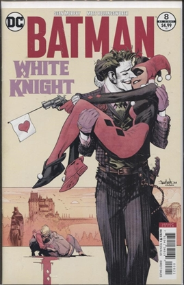 Picture of BATMAN WHITE KNIGHT #8 (OF 8) VAR ED