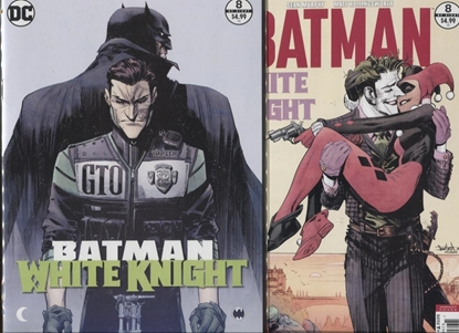Picture of BATMAN WHITE KNIGHT #8 / COVER A 1ST PRINT & B VARIANT / NM UNREAD