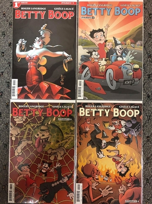 Picture of BETTY BOOP (2016) #1-4 1ST PRINT SET