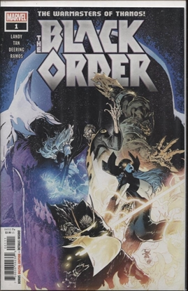 Picture of BLACK ORDER #1 (OF 5)