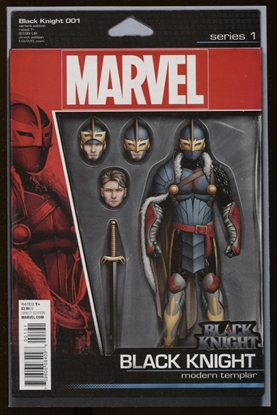 Picture of BLACK KNIGHT #1 CHRISTOPHER ACTION FIGURE VAR