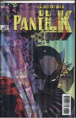 Picture of BLACK PANTHER #166 CRAIG LH VAR LEG