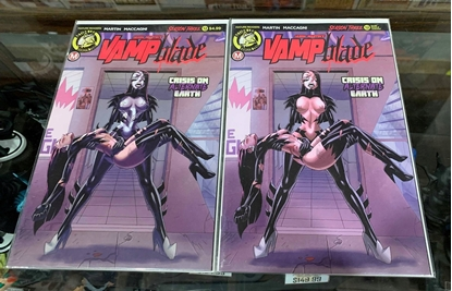 Picture of VAMPBLADE SEASON 3 #12 CVR A & B YOUNG 2 COVER SET NM REG & RIQUE