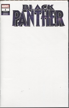 Picture of BLACK PANTHER #1 BLANK VAR