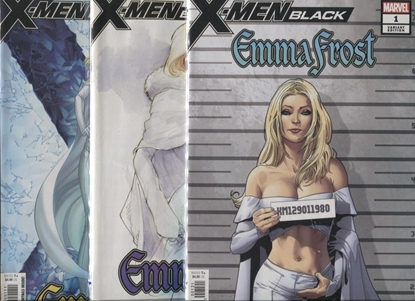 Picture of X-MEN BLACK EMMA FROST #1 3-COVER SET